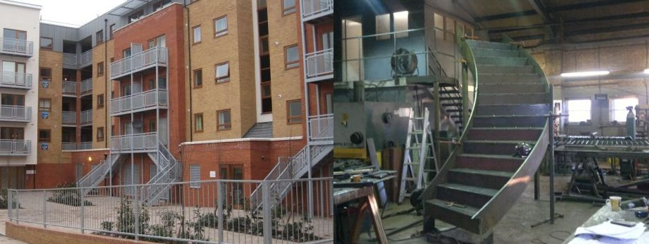 Fire Escape Manufacturer In Sussex Metal Stairs